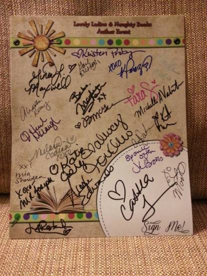 SignedScrapbookPage
